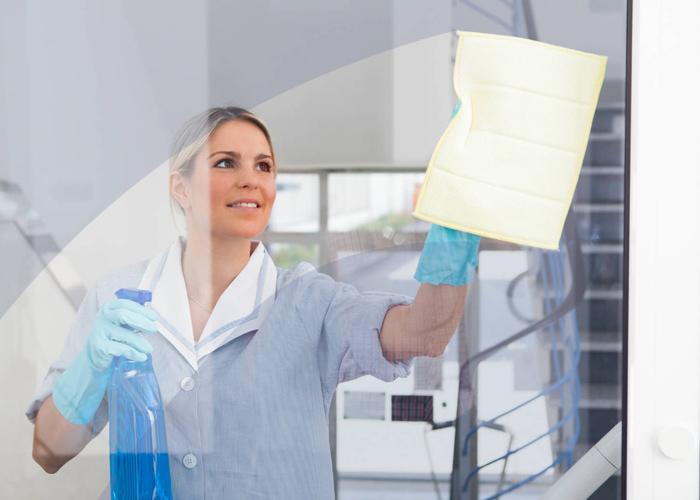 Des vitres toujours propres et bien entretenues
